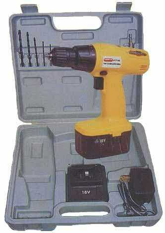 18 Volts Cordless Drill Set  Great Gift Idea For Your Handyman!   Accessories Include: 6 piece Screwdriver Bits, 6 piece Drill Bit Set, UL 110V AC/DC Adapter, Detachable Battery, Extension Bar, 5 Hour Charger, Nearly Indestructible Blow Mold Case. Spoil Yourself Or Give A Gift That Will Be Appreciated For A Very Long Time...